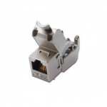 Inserto jack schermato rj45 cat 6a toolfree