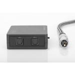 Commutatore toslink per 2 dispositivi (dvd, console etc) con 1 impianto audio toslink