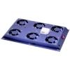 Kit 6 ventole con termostato colore nero per armadi linea server