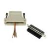 Connettore modulare 25 poli maschio - 6 poli rj11