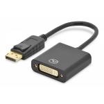 Cavo adattatore displayport connettori dp maschio - dvi-i(24+5) femmina cm. 15