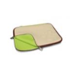 """Custodia in neoprene per notebook 15,6"""" beige/marrone"""