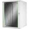 Armadio 16 unita' da muro linea soho (a)820 x (l)600 x (p)600 mm. colore grigio chiaro ral7035