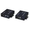 Estensore kvm per video vga, tastiera e mouse usb + audio 200 mt con cavo di rete