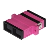 Adattatore fibra ottica sc/sc multimode duplex om4