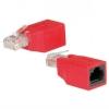 Adattatore incrociato per cavi rete rj45 utp non schermato cat 5e