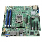 Server board intel s1200splr 1 cpu e3-12xx v6 1151 m.2 ddr4-ecc unb