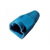 Copriconnettore per plug rj45 blu   confezione 10 pz.