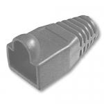 Copriconnettore per plug rj45 grigio confezione 100 pz.