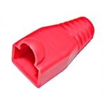 Copriconnettore per plug rj45 rosso confezione 10 pz.