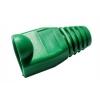 Copriconnettore per plug rj45 verde confezione 10 pz.