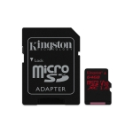 Flash card micro-sd 64gb kingston react