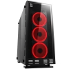 Case atx itek lunar 23r2 gaming rgb fan con telec. glass black