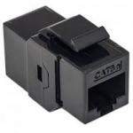 Accoppiatore keyston rj45 f/f black per cavi rete nw-ku5p-bk