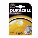 Batteria al litio 3 volt a bottone cr2032 duracell 1pz