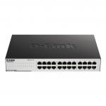 Hub switch 24 porte gigabit d-link go-sw-24g easy desktop