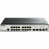 D-Link DGS-1510-20 Gestito L3 Gigabit Ethernet (10/100/1000) Nero switch di rete