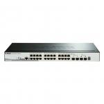D-Link DGS-1510-28P Gestito L3 Gigabit Ethernet (10/100/1000) Supporto Power over Ethernet (PoE) Nero switch di rete