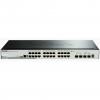 D-Link DGS-1510 Gestito L3 Gigabit Ethernet (10/100/1000) Nero