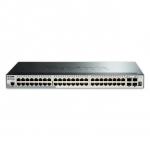 D-Link DGS-1510-52X Gestito L3 Gigabit Ethernet (10/100/1000) 1U Nero switch di rete