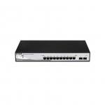 D-Link DGS-1210-10 Gestito L2 Gigabit Ethernet (10/100/1000) 1U Nero, Grigio switch di rete