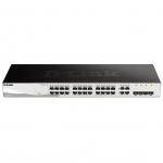 D-Link DGS-1210-24 Gestito L2 Nero switch di rete