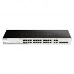 D-Link DGS-1210-28 1U Nero switch di rete