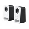 Speakers logitech z150 2.0 6w uscita cuffie alim. 220v bianche