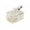 Plug telefonico rj11 6p4c confezione 50pz