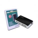 Lettore card usb 2.0 digitus da70322 anche cf nero silver