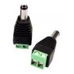 Connettore dc maschio/morsettiera x  alim. tvcc conf.10pz 22099