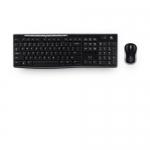 Kit tastiera e mouse wireless logitech mk270 black