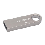 Pen drive 16gb usb 2.0 kingston dtse9h/16gb datatraveler se9 sil