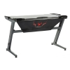 Itek gaming desk gamdes one red - struttura acciaio con finiture abs, illuminazione led rosso