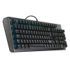 Cm tastiera meccanica masterkeys ck550 / rgb / gateron blue switch