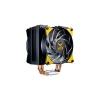 Ventola masterair ma410m tuf edition, 120*25mm pwm fan, 600-1800rpm, 4x hp, addressable rgb led