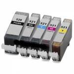 Cart comp canon cli-521c ciano x pixma ip3600/4600/mp540/mx860