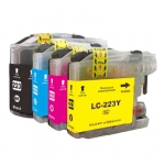 Cart comp brother lc-223y giallo dcp-j4120dw/mfc-j4420dw/5620