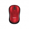 Mouse wireless logitech m185 usb red