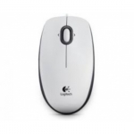 Mouse logitech b100 usb white