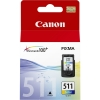 Cart canon cl-511 color x mp2700 mp230 mp480 mx320 mx410 9ml