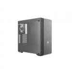 Case atx masterbox mb600l gun metal cooler master no psu slot od
