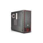 Case atx masterbox e500l cooler master red usb3 lat. trasp.