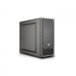 "Case masterbox e500l, silver, steel side panel, usb3x2, audioi&o, 1x 5,25"",2x 2.5"",2x 3.5"", 120mm r. fan, radiator sup., no psu"