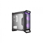 """Case masterbox q300p, usb3x2, audio i&o, 1x 3.5/2x 2.5""""bay, 2x 120mm rgb fr.fans+1x 120mm r.fan, radiator supp., no psu"""