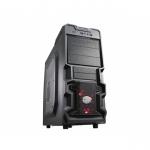 Case atx k380 cooler master no psu laterale trasparente black