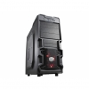 Case atx k380 cooler master no psu laterale trasparente black