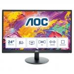 "Monitor aoc 23,6"" led m2470swh 1920x1080 mm 1ms 1000:1 2xhdmi vesa blk"