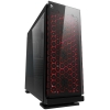 Case atx itek cosmic 19r2 gaming rgb fan con telec. glass black