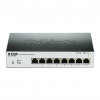D-Link DGS-1100-08P L2 Gigabit Ethernet (10/100/1000) Supporto Power over Ethernet (PoE) Nero switch di rete